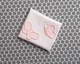 Applique Machine Embroidery Design Baby Butterflys
