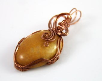 Copper Waves Pendant