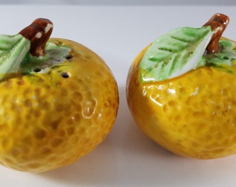 Orange Salt and Pepper Shakers (959)