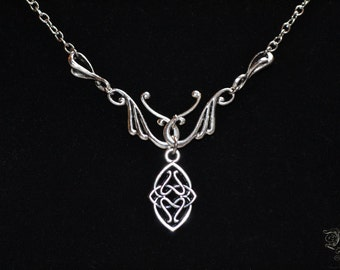 "Necklace ""Elven Kingdom"""