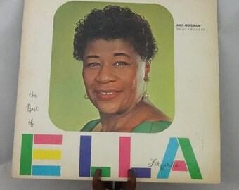 Ella Fitzgerald LP Double Record Vinyl Album, The Best of Ella