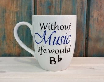 Music Coffee Mug, coffee mug, coffee cup, unique coffee mug, funny mug