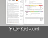 Printable Bullet Journal Pages - A5 - A4 - US Letter (8.5x11)