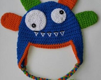 Crochet Silly Monster Hat