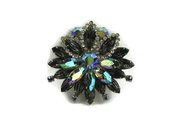 D&E Juliana Rhinestone Brooch