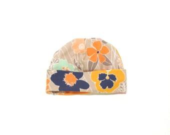 50% OFF Baby girl  hat -baby shower gift - Flower newborn hat