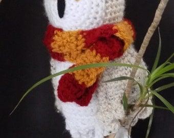 snowy owl soft toy