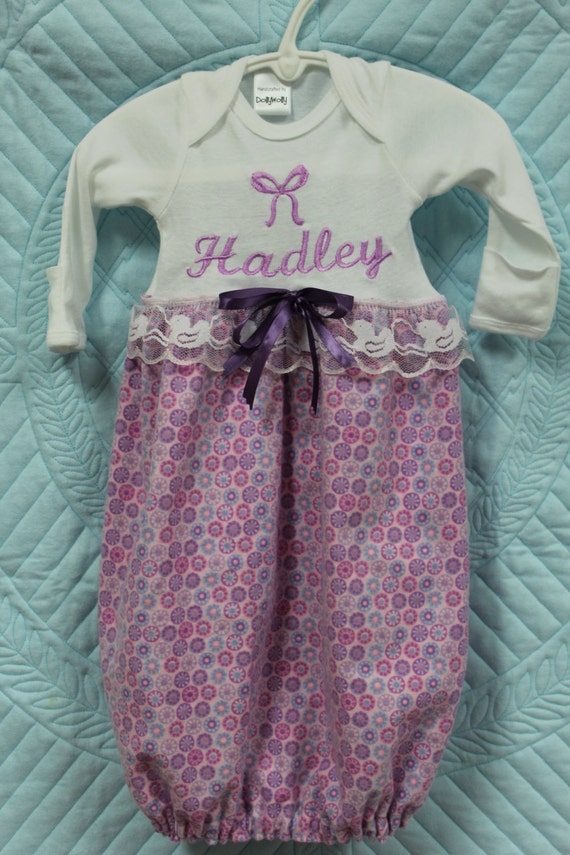 DollyWollySewing - Baby girl Coming home outfit,Lavender ...