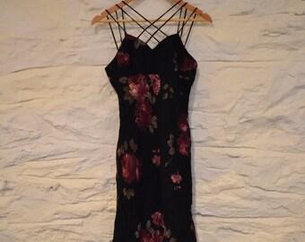 strappy 90s dress