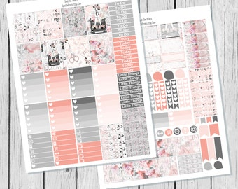 Fashion Diary || Planner Sticker Printable / Sticker Printable / Printable Planner Stickers / Weekly Planner Sticker Kit