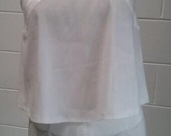 Limited release women's designer white satin jacquard shorts