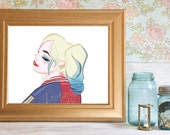 Harley Quinn, Print, Gotham, Suicide Squad, Batman, Joker, Harleen Quinzel, Cartoon, Girly, Siren, Margot Robbie