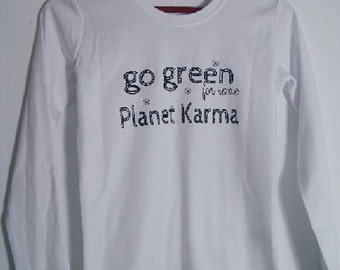 Go Green for Planet Karma