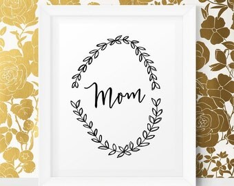 Mothers Day Present Mothers Day from Daughter Gift Mom Mothers Day Print Mother's Day Gift Mother's Day Printable Mothers Day Sale Mom Print