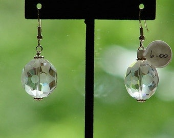 Crystal Earrings Bride's Maid Earrings Wedding Jewelry