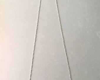 Gray Blue Czech Glass Necklace 20% Off