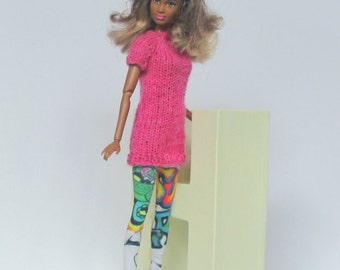 Knit dress with Leggings for Barbie, Silkstonebarbie, Poppyparker, Fashionroyalty