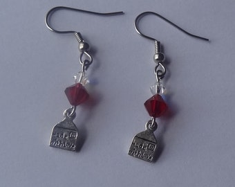 Swarovski Valentine's Earrings
