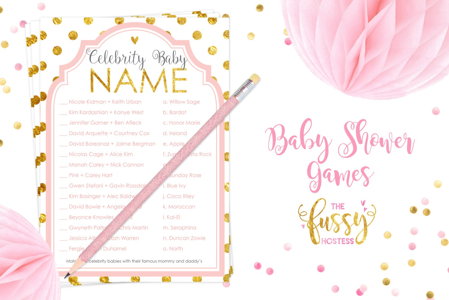 10 Printable Baby Shower Games Your Guests will Surely Enjoy