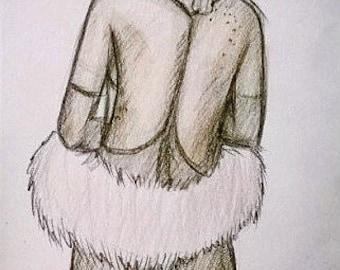 Rihanna Sketch Original