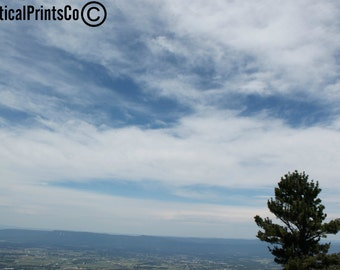 Skyline Drive, Shenandoah National Park, Clouds, Cloud Photo, Mountains