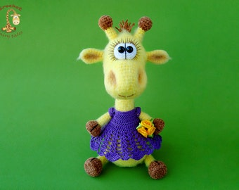 Giraffe, crochet toy, stuffed animal, crochet giraffe, toy, giraffe toy, amigurumi giraffe