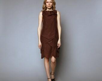 Knee-level 4 layered dress