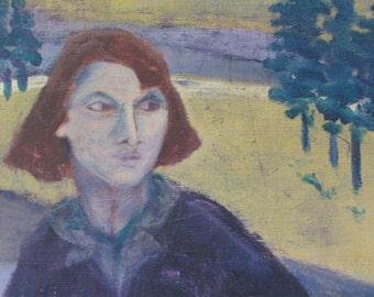 Vintage Portrait Painting