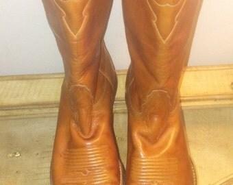 70's Tony Lama vintage cowboy boot