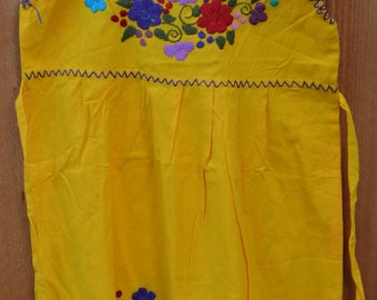 Hand embroidered Mexican Dress 5t