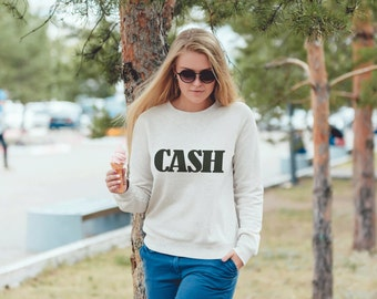 Johnny Cash T-Shirt. Johnny Cash Shirt, Unisex Sweatshirt Country Music Shirt