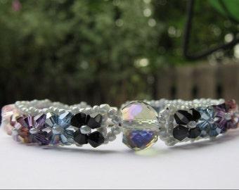 Floral Sparkle Bracelet