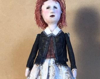 """OOAK Art Doll """"Eliza"""""""