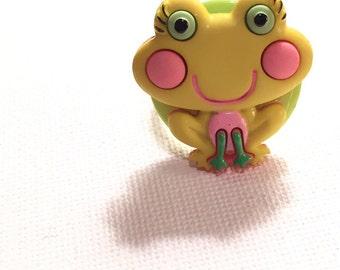 Little Miss Frog Ring