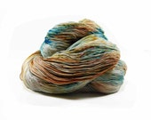 300 Yards Hand Dyed Crochet Thread Size 10 Cotton Thread 3 Ply Speckled Sea Green Golden Yellow Grey Light Brown Fine Cotton Yarn