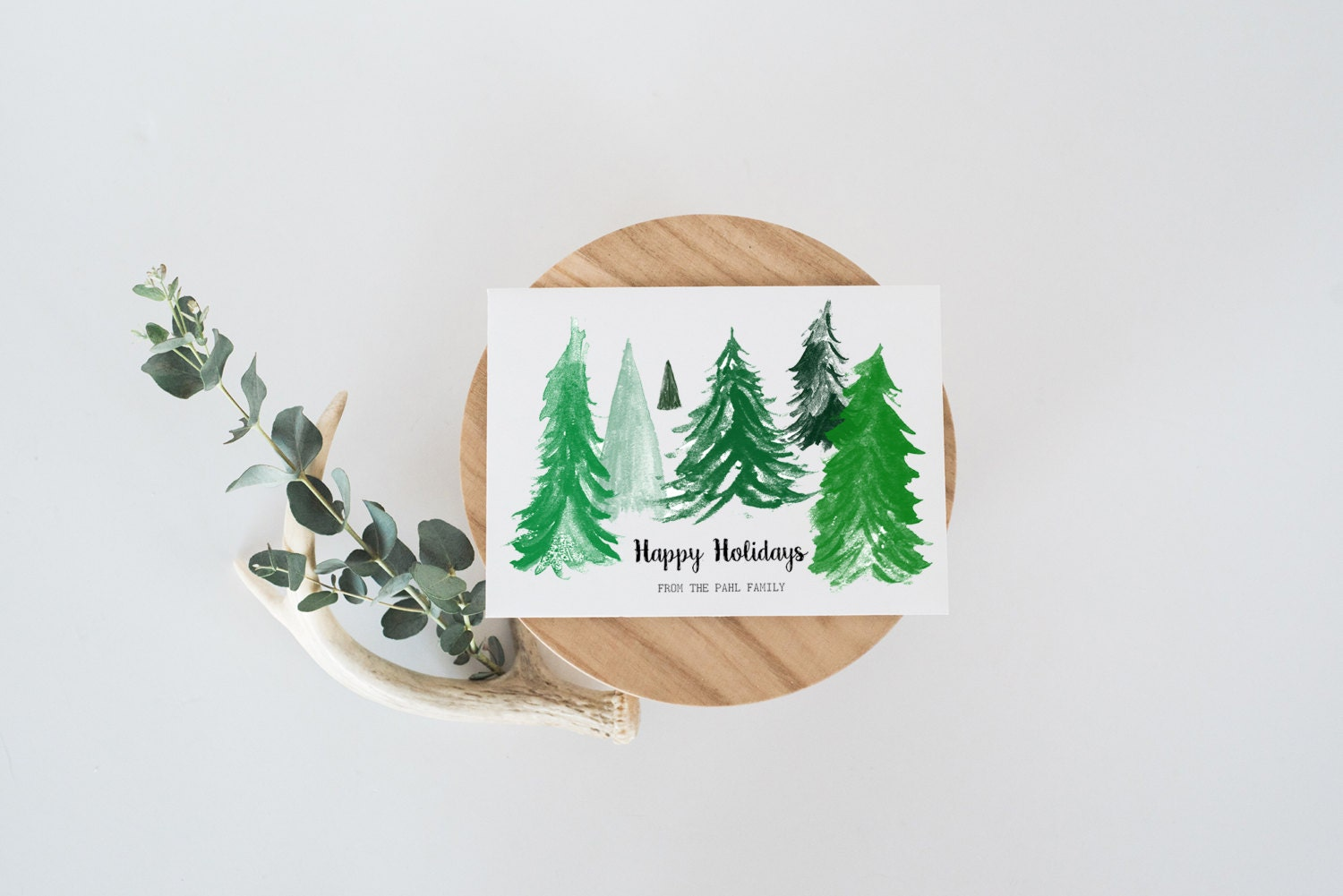 Personalized Holiday Cards - Happy Holidays Cards - Custom Holiday ...
