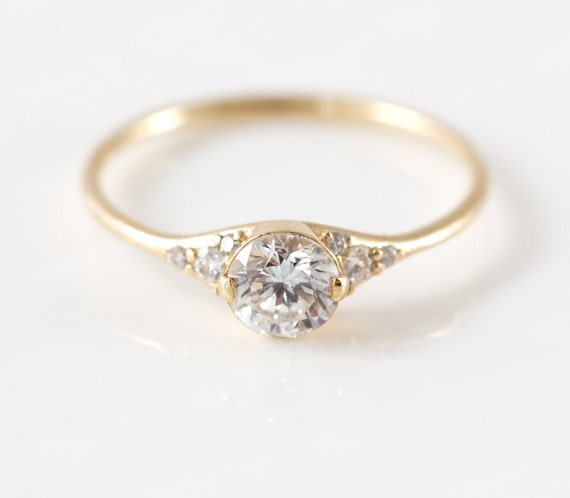 s slipper engagement ring by