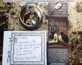 The Witch's Mirror Book Upgrade Kit Autographed Bookplate, Bookmark and Compact Mirror Included