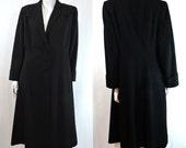 Reserved Ladies 1940s Vintage Gabardine Coat