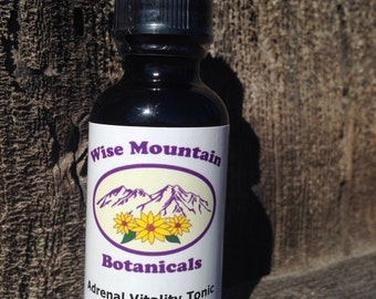 Adrenal Vitality Tonic- Herbal Tincture