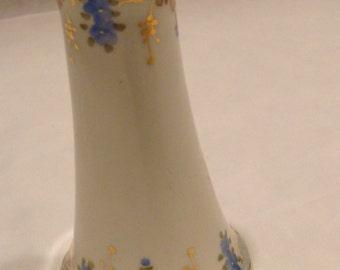 Porcelain Hand Painted Hat Pin Holder Vintage