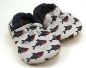 shark baby shoes gray shark slippers, soft sole shoes with sharks clothing, baby boy shoes, gray baby shoes, baby boy shoes, shark week
