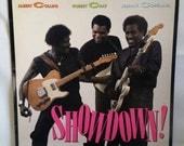 Blues Record - Showdown! - Albert Collins, Robert Cray, Johnny Copeland - 1985 Texas Blues LP