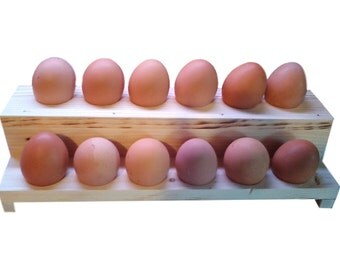 Egg Tray, Egg Display, Egg Rack, Decorated Egg Holder, Egg Storage, Egg Carton, Wooden Egg crate, Easter Egg Display