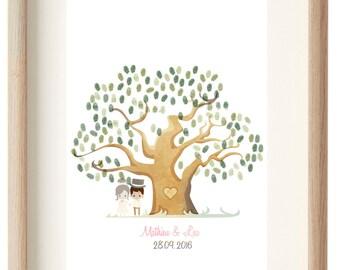 MARRIAGE tree to customizable footprint