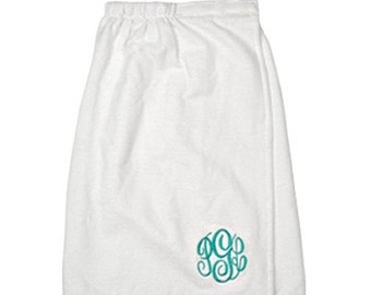 Monogrammed Spa Wrap | Personalized Microfiber Towel Wrap | Perfect for bridal parties, spa parties, gifts, bridesmaids