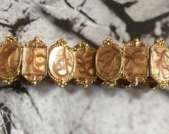Vintage bracelet - Gold - Gift- Jewellery