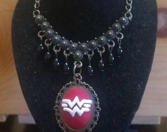 wonder woman cameo pendant