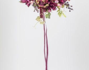 SILK  FLOWERS WEDDING bouquets packages rhinestones