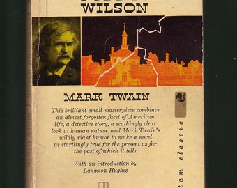 Mark Twain's Pudd'nhead Wilson. 1959 Bantam Paperback In Acceptable Condition* (See Images).  BARGAIN BOOK.
